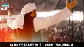 Ya Tum Kya Kr Rahy Ho || Islamic Whatsapp Status || Molana Tariq Jameel Sb