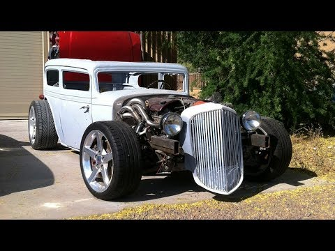 1932 Chevrolet 2 Door LS1 C5 Rat Rod Sedan Build Project