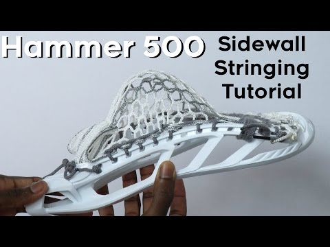 How to string an STX Hammer 500