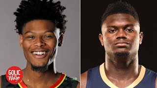 NBA rookies who say Cam Reddish will outshine Zion are just haters - Mike Golic | Golic and Wingo