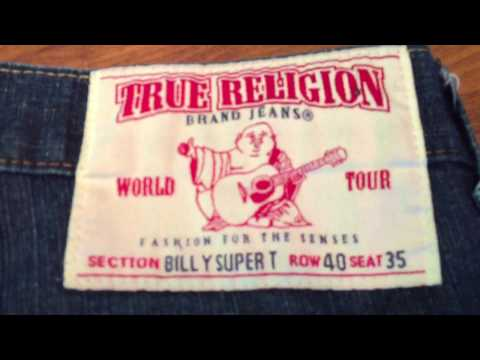 Reselling Clothing On Ebay Tip #1 How To Spot Counterfeit True Religion Jeans FAKE!