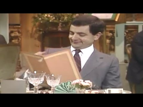 Restaurant Etiquette | Mr. Bean Official Cartoon