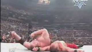 Chris Benoit wins the Royal Rumble