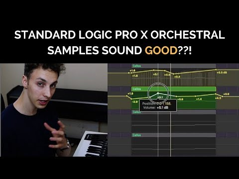 Making Standard Logic Pro X Orchestral Libraries Sound GOOD