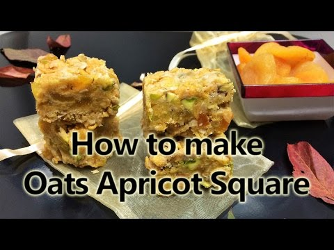 How to make Oats Apricot Square