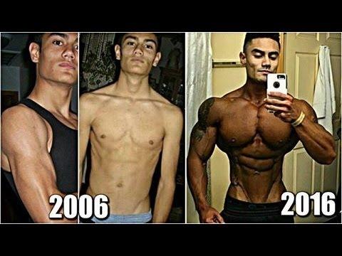 Jeremy Potivin Incredible Body Transformation From Skinny to a Beast | Motivation