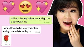 Girls Asking Their Crushes Out! (Valentine