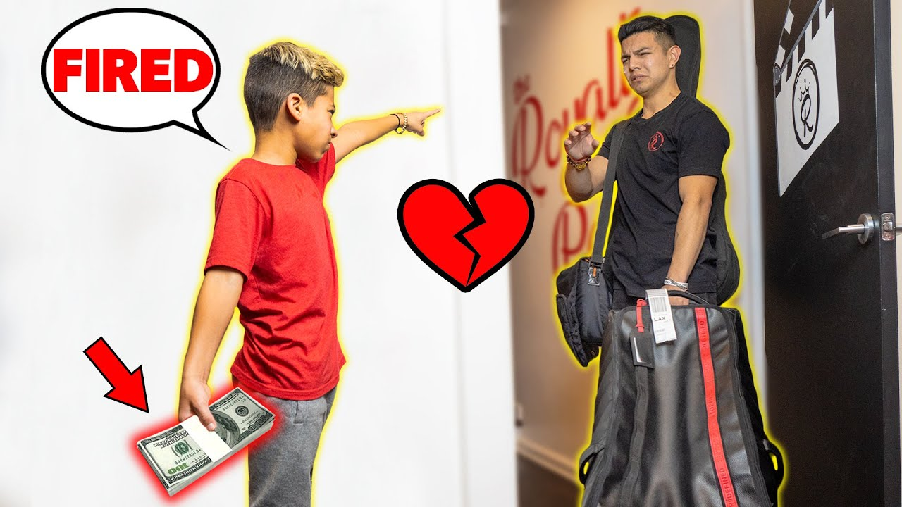 FIRING our Assistant, Then SURPRISING Him With $10,000 CASH! *BEST REACTION* | The Royalty Family