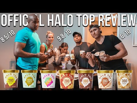 Halo Top Taste Test and Review | ALL NEW FLAVORS (The Best Healthy Ice Cream)