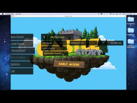 Castle Story: How to create a server