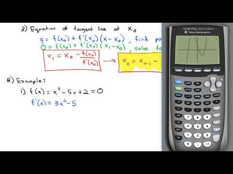 4.9 Newton's Method