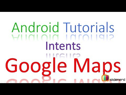 27 Android Intents Example Launch Google Maps |