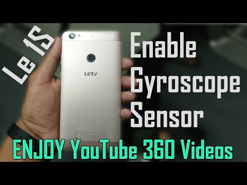 Enable Virtual Gyroscope sensor in Le 1S/ Le1s Eco (or any Smartphone)