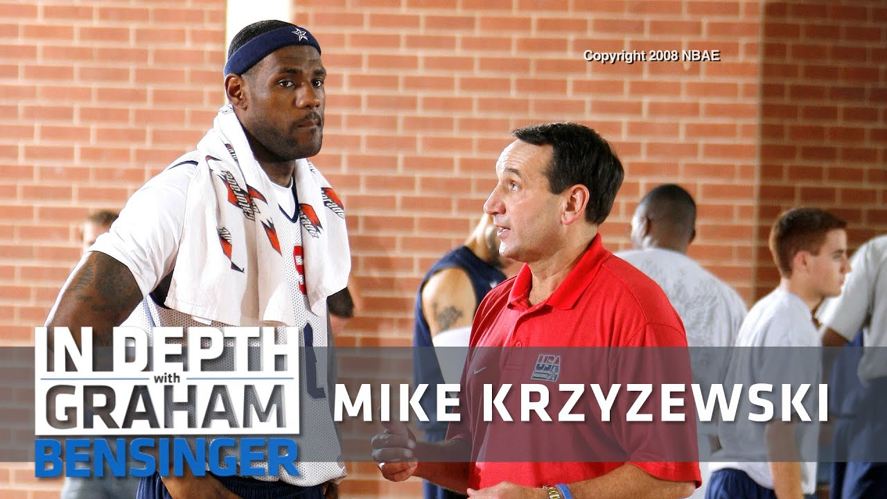 Coach K to LeBron: Look me in the eyes