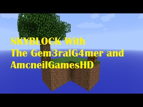 Sky Block Episode #2 With General Gamer