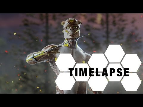 Spin_ROYA - Character Creation - sculpting/texturing (Blender & Substance Painter Timelapse)