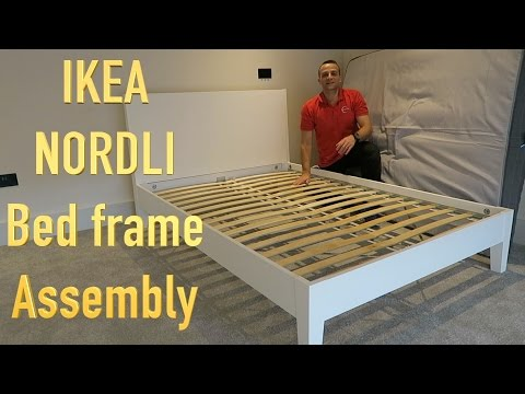IKEA NORDLI Bed Frame Assembly