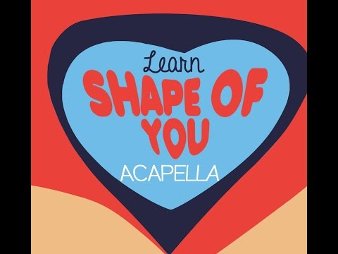 Acapella Tutorial - Shape of You by Ed Sheeran
