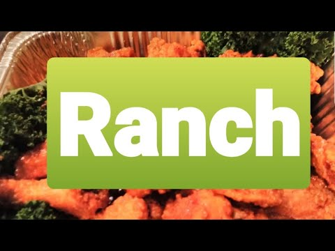How to make fried ranch chicken