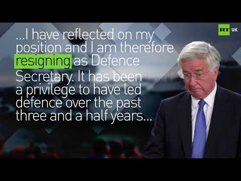 Michael Fallon's resignation letter to Theresa May