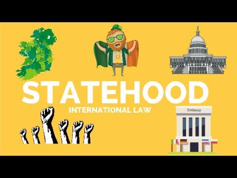 Statehood,  visualized - International Law Animation
