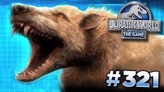 A New Glacier Creature!    Jurassic World - The Game - Ep321 HD