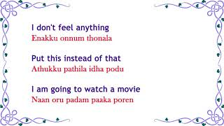 Learn Tamil through English - Lesson 3 - Numbers - PakVim net HD
