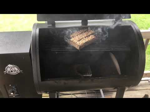 How To Add More Smoke To Your Pit Boss Pellet Smoker! Also Killer Good Chicken!