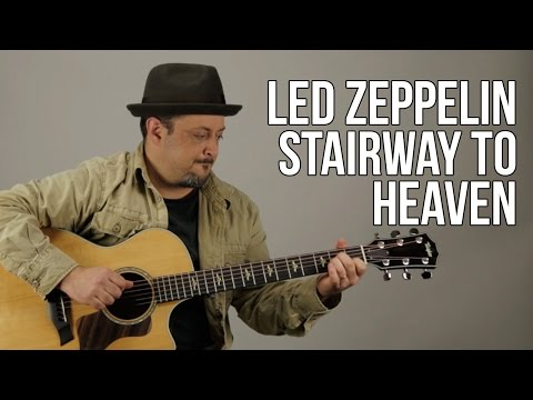 How To Play Stairway To Heaven Part 1 - Guitar Lesson - Led Zeppelin - Jimmy Page