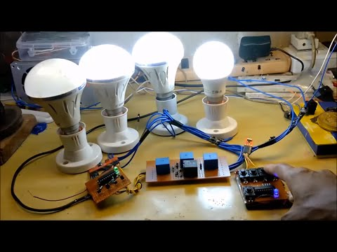 How to make rf remote control home automation system diy