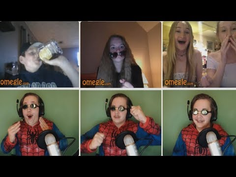 Meeting Strangers on Omegle - Things get wild at night