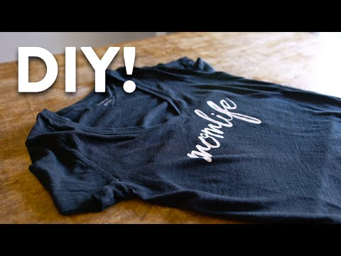 DIY Custom T-Shirt Printing Tutorial - Made Easy!