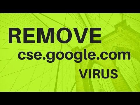How to remove cse.google.com redirect on laptop and PC