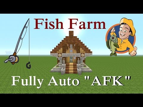 Minecraft Tutorial : Fish Farm / House