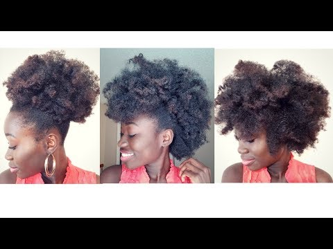 How To Get A Big Afro & 3 Ways to style | Natural Hair
