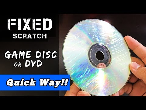 How to FIX a Scratched Disc- 3 EASY Ways! [2018]
