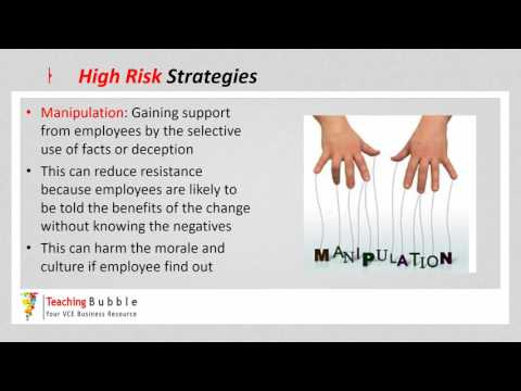 VCE Business Management - High Risk Strategies