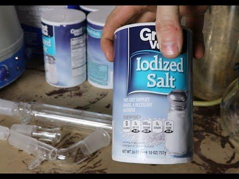 Iodine From Salt