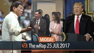 Marcos, Duterte, Trump | Midday wRap