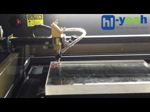 HL-1060L 130W DIY CO2 Laser Cutter Engraver Machine for 25mm Acrylic Cutting