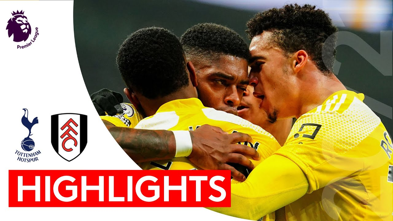 Tottenham Hotspur 1-1 Fulham   Premier League Highlights   Fulham fight back to stay unbeaten in six