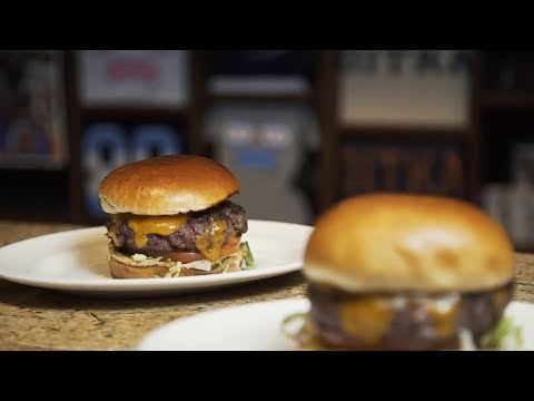 The Famous Fridge Burger at Ditka's Chicago