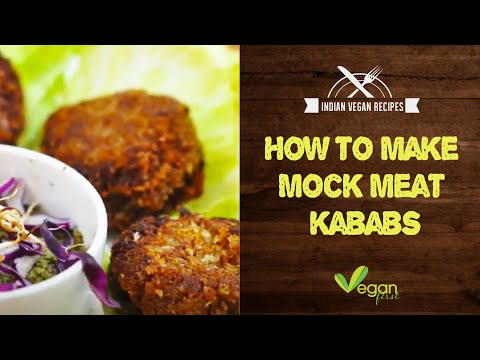 Mock meat kababs