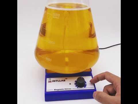 Intllab magnetic stirrer(stir plate)for making a yeast starter