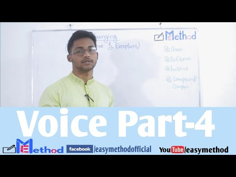 Changing Voice| Part-4|English-2|Class 11-12