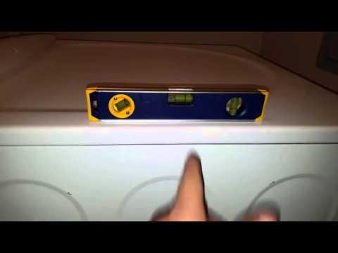 How-to Stop a Walking / Shaking / Wobbling Washing Machine
