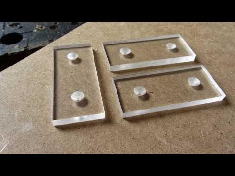 How to Make LED Light Up Plexiglass Acrylic glass