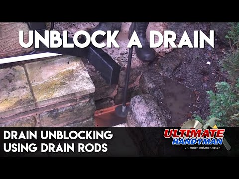 Drain unblocking | Drain rods