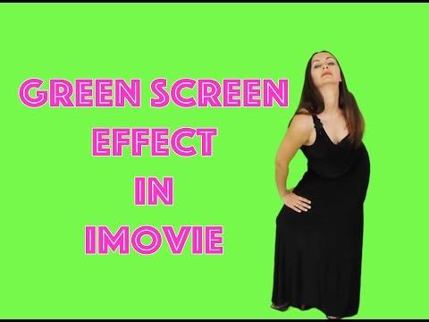 Green Screen in iMovie 10   GreenScreen iMovie Tutorial