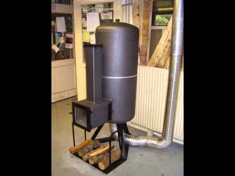 Rocket-stove heater